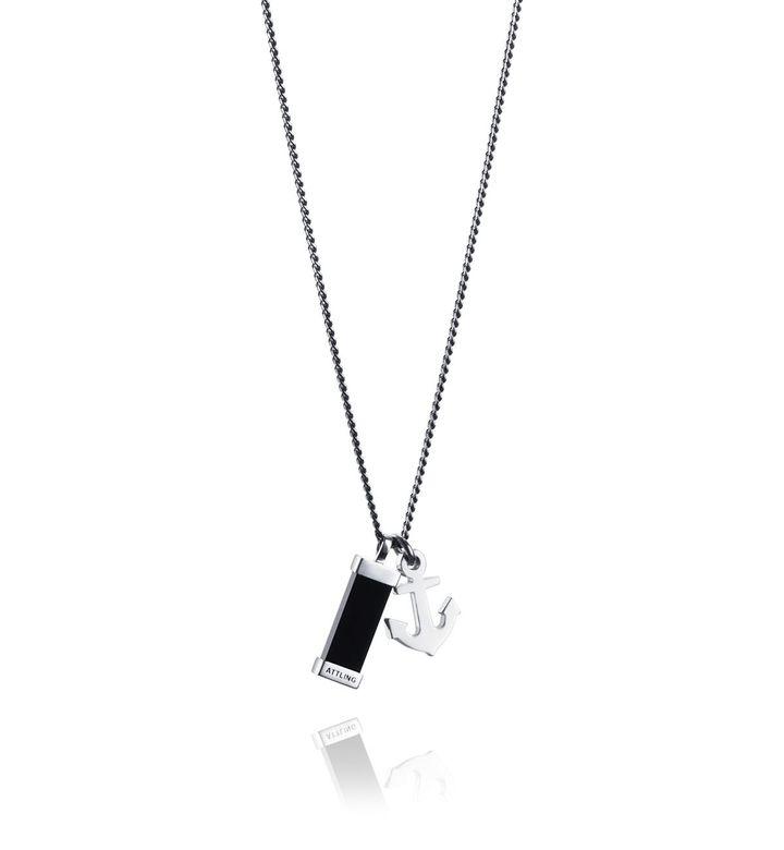 Freedom & Fortune Pendant – Silver, 50 cm