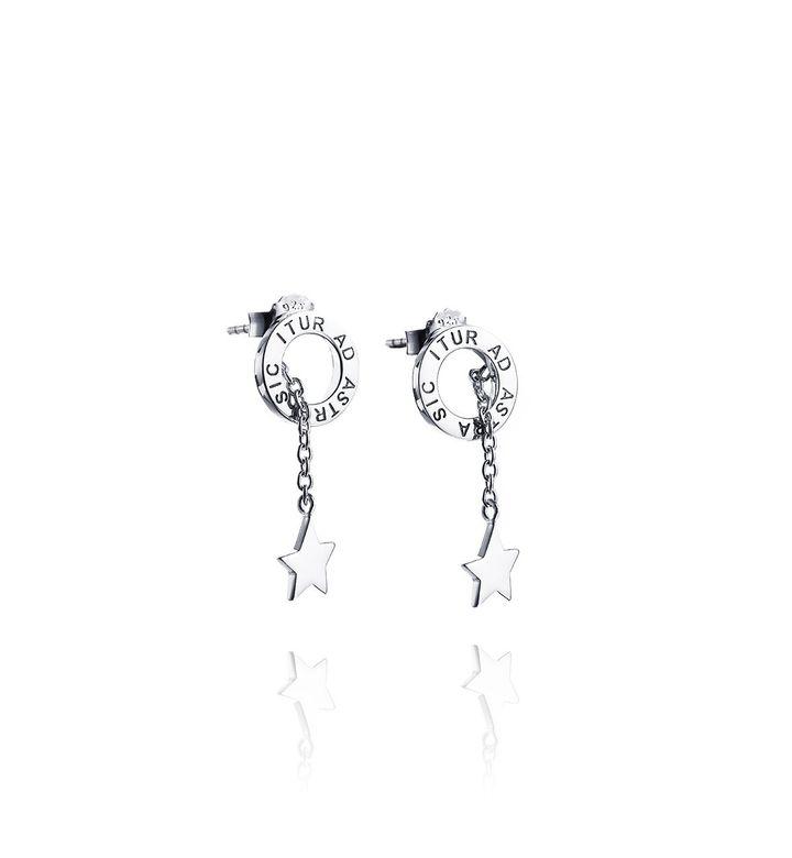 Astra Fall Earrings – Silver