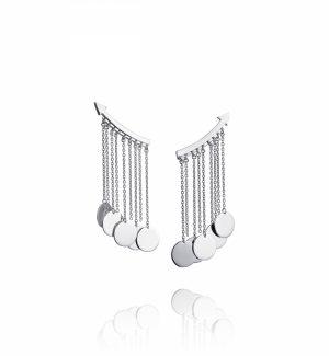 Arrow Earrings – Silver