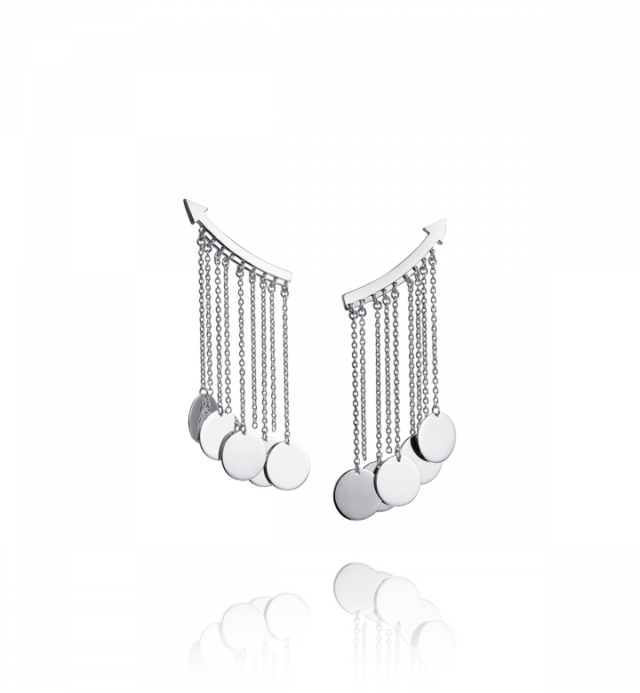 Arrow Earrings – Silver