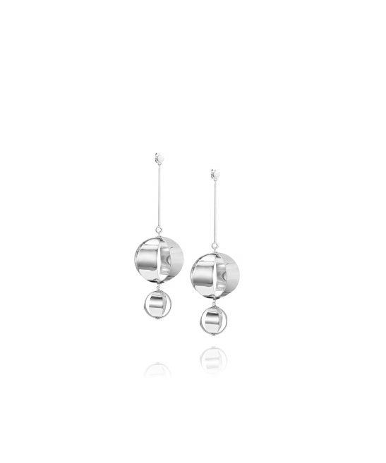 Balloons Earrings – Silver