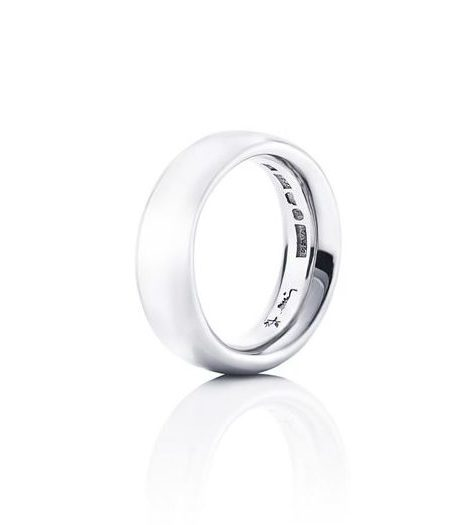 Big Oval Ring – Silver
