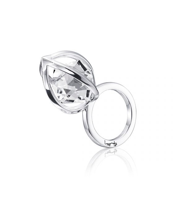 Captured Harmony Ring – Silver