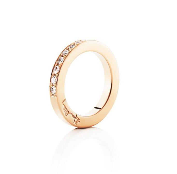7 Stars & Signature Ring – Guld
