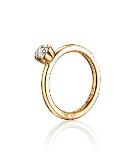Love Bead Wedding Ring – 0.19 carat