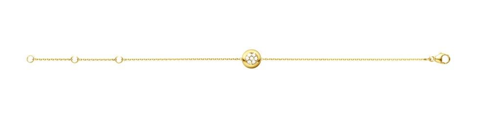 Aurora Armband – 18 Karat Rött Guld med Briljanter.
