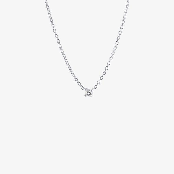 Diamond Sky Drop Necklace