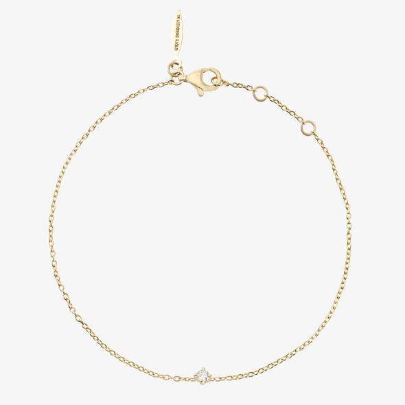 Diamond Sky Drop Bracelet Gold