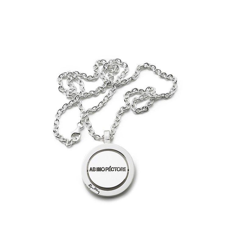 Ab Imo Pectore Pendant – Silver, 45cm