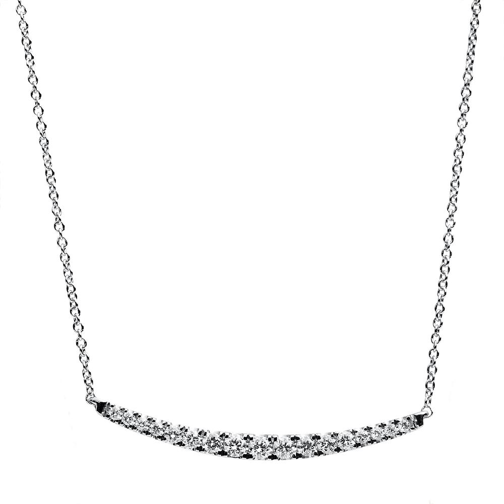 Diamanthalsband 0,14ct