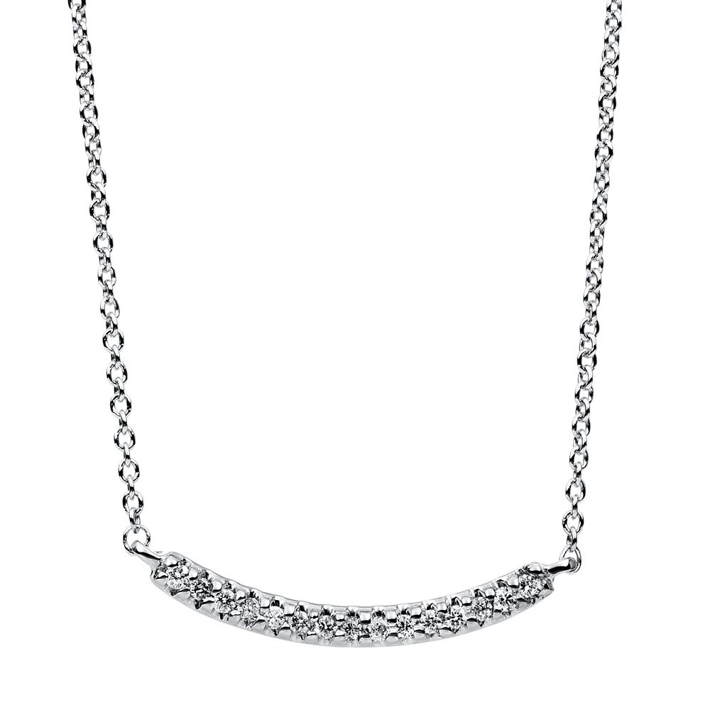Diamanthalsband 0,05ct