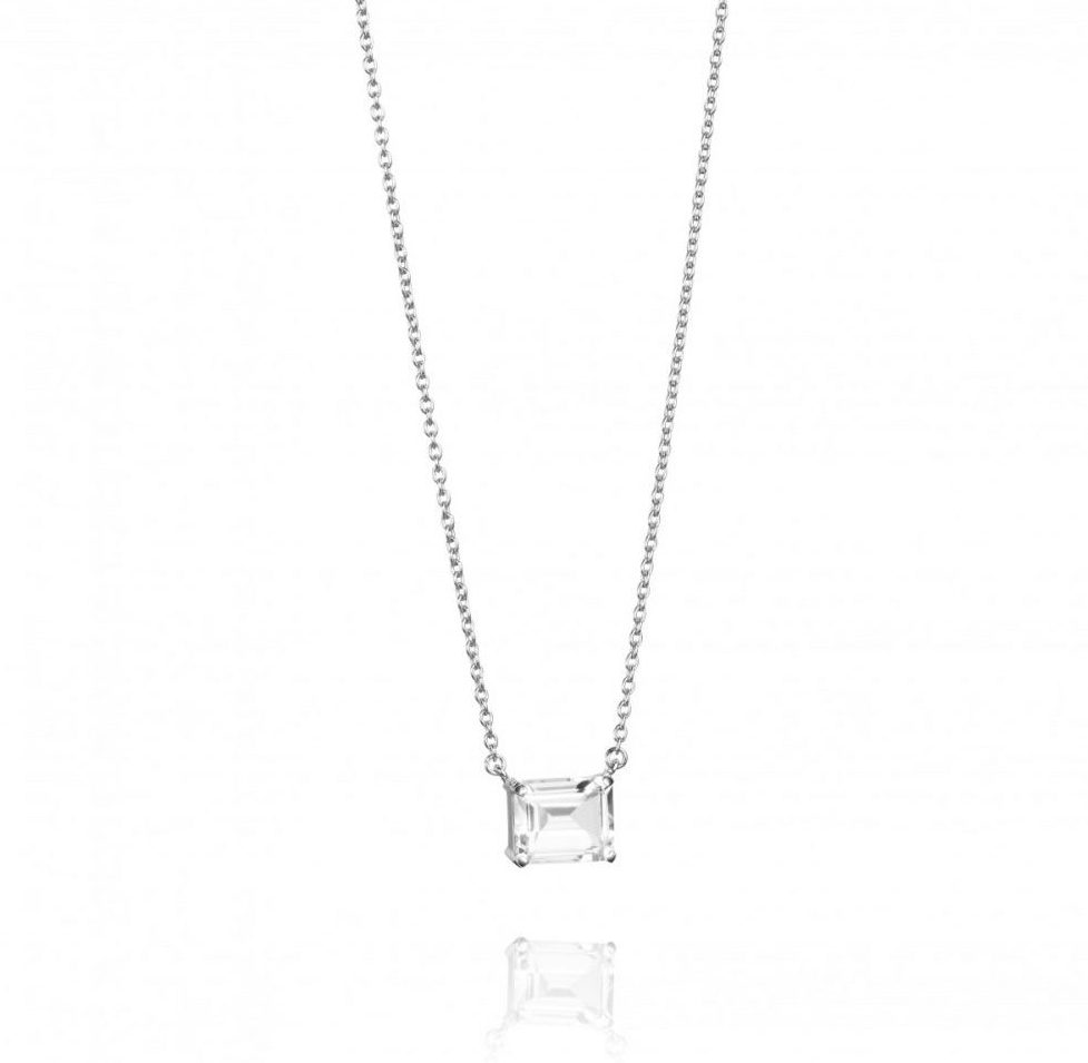 A Clear Dream Necklace-Silver