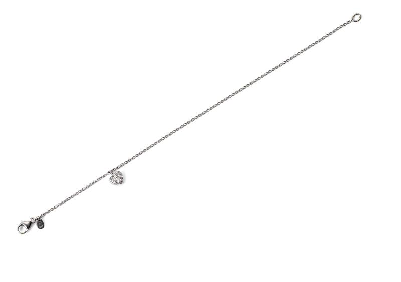 Armband Hjärta Pavé 0,20ct