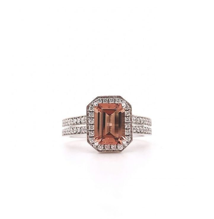Cosmopolitan Brun Turmalin Ring
