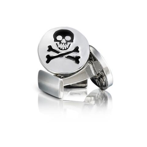 Cuff Links Skull & Bones
