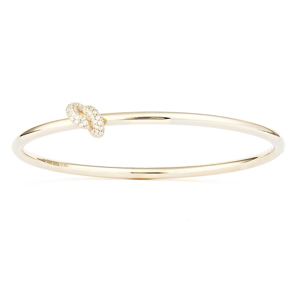 Absolutely Knot Pavé Armring
