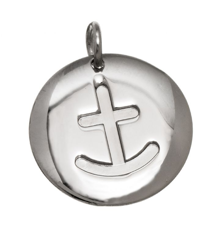 Charmentity Anchor Large Steel