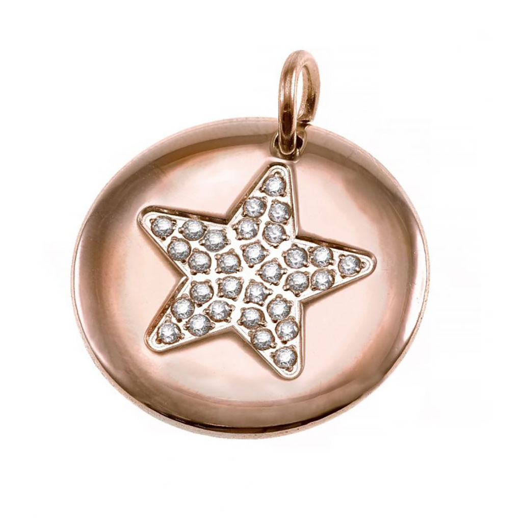 Charmentity Star Large Rosegold