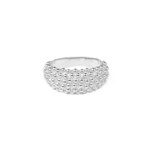 Dew Ring Silver