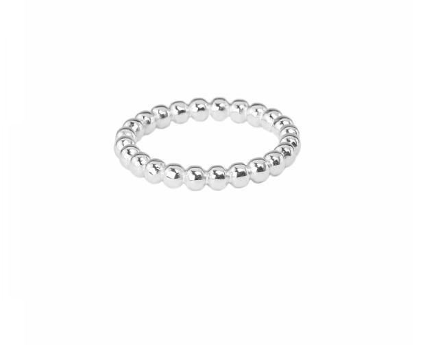 Globe Ring Silver