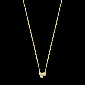 Moonlight Grapes Halsband Guld Med Diamanter