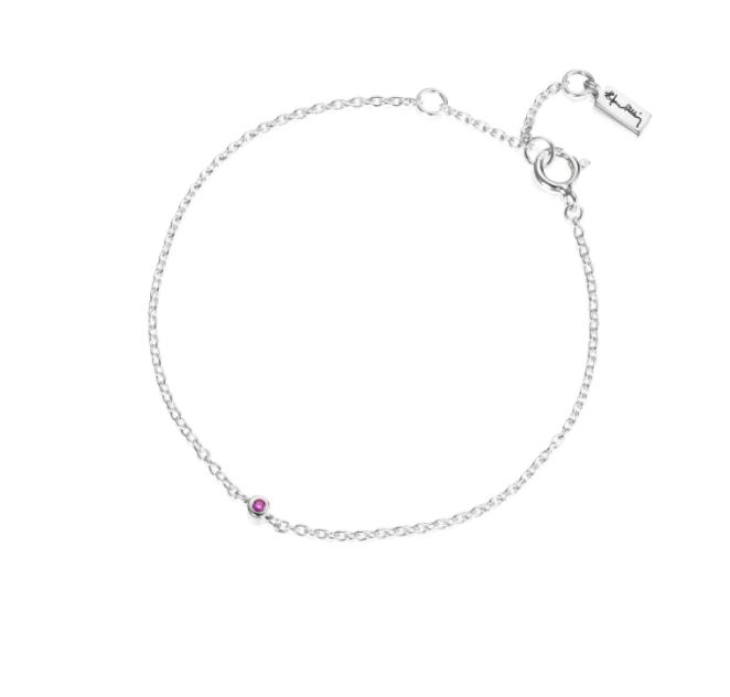 Micro Blink Bracelet Pink Sapphire