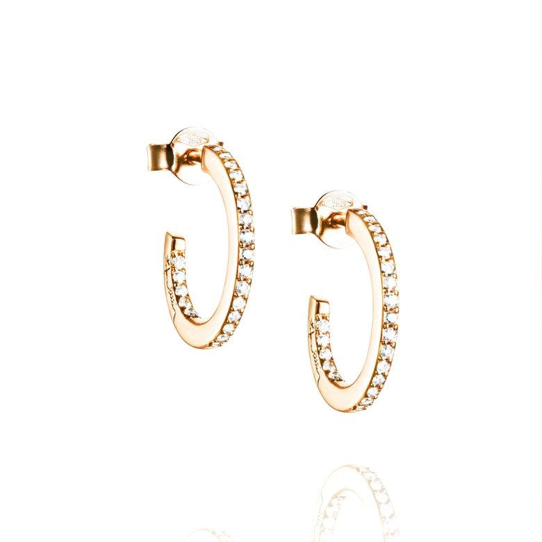 Star Hoops Gold