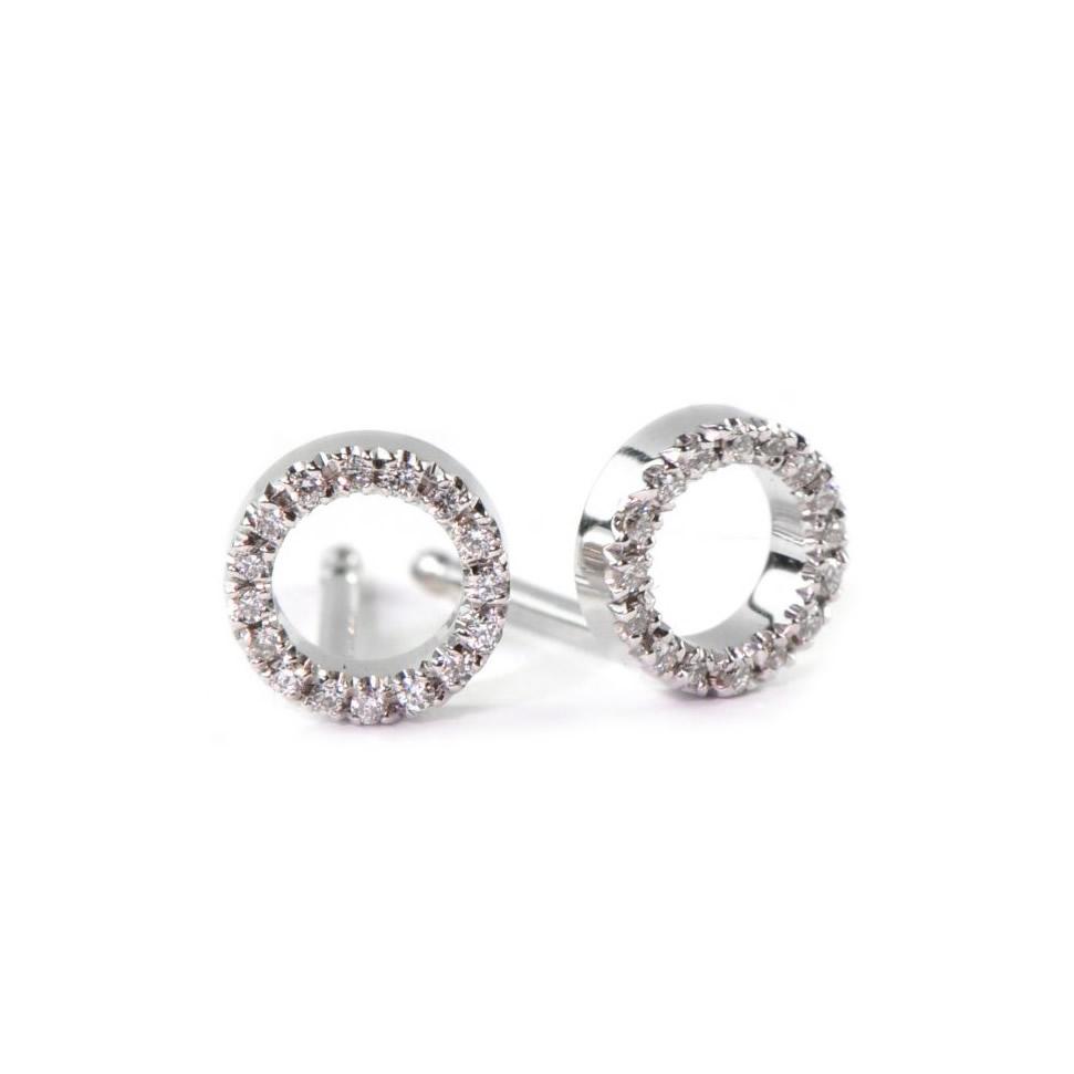 Happy Round Earrings