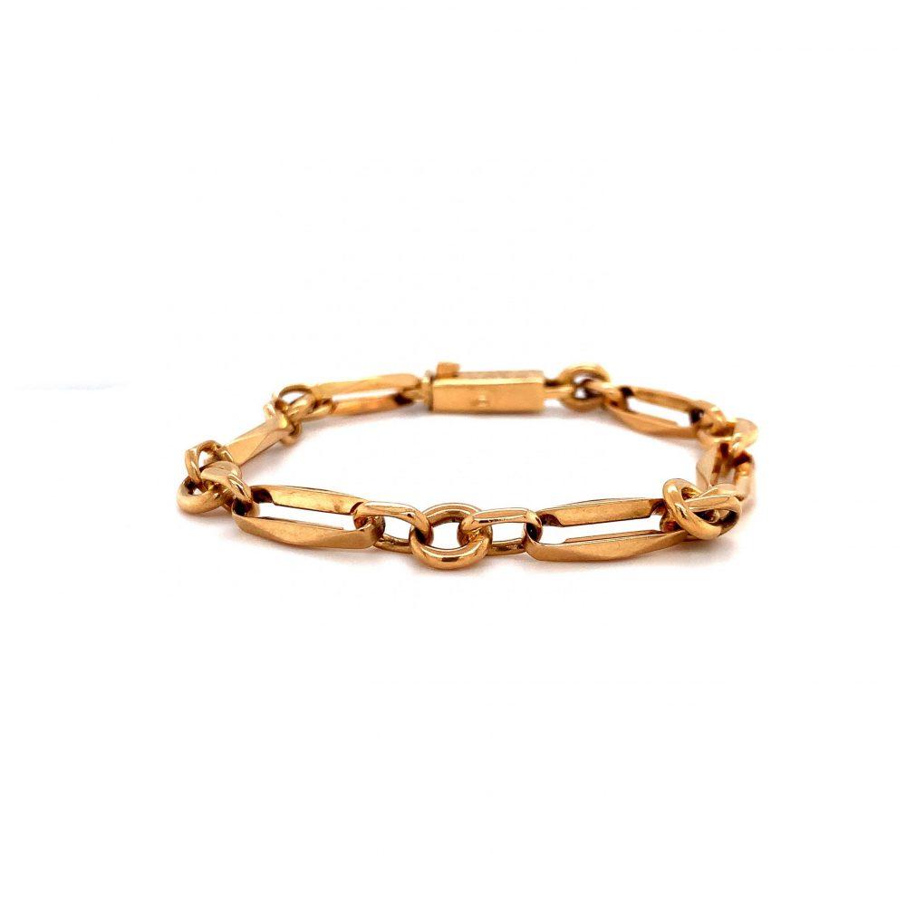Guldlänk Armband 18k