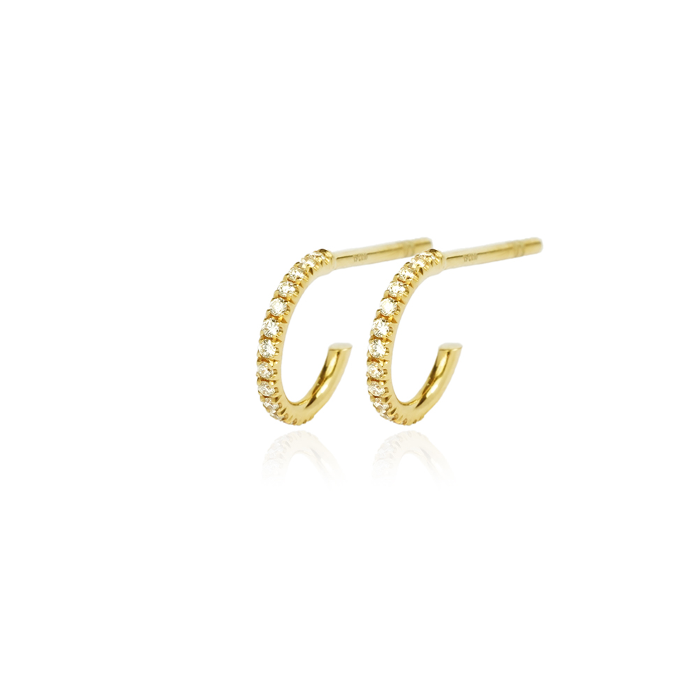 Hoop Small Gold