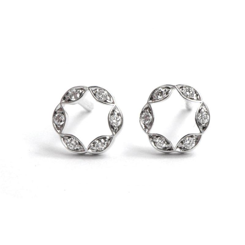 Juliet Pave Earrings