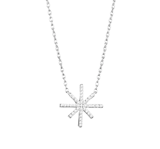 Beam & Stars Single Necklace