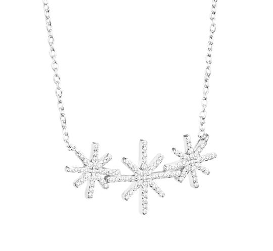 Beam & Stars Triple Necklace