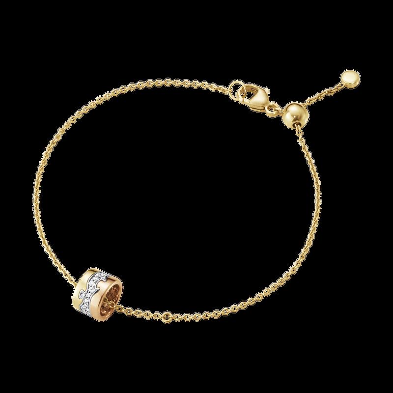Fusion Bracelet Centre Pavé